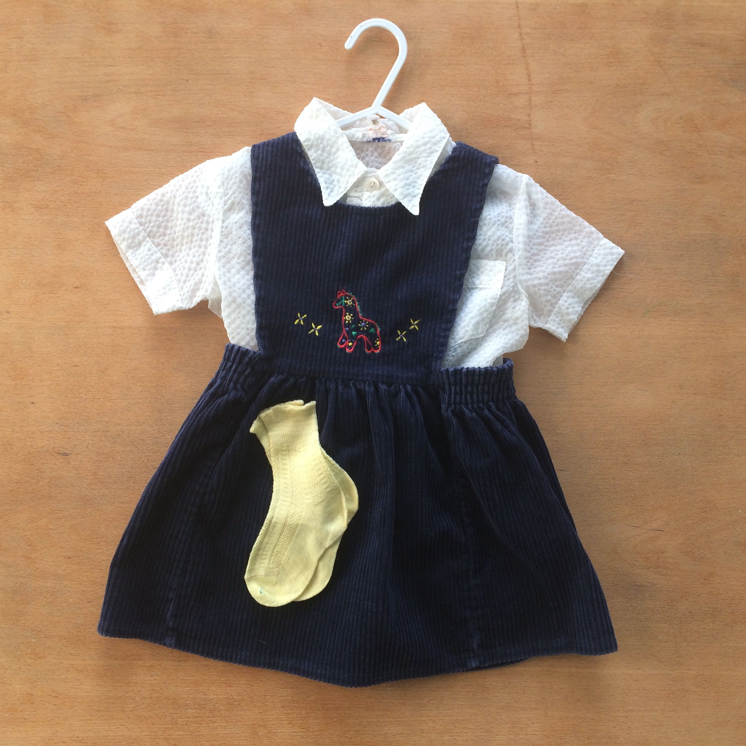Vintage baby clothes vintage ladybird dress and 1950s girls blouse