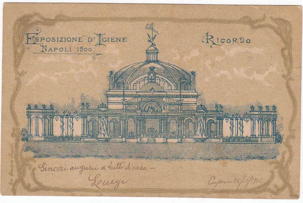 Il padiglione di Benevento all'Esposizione di Igiene in Napoli, (1900), de Almerico Meomartini