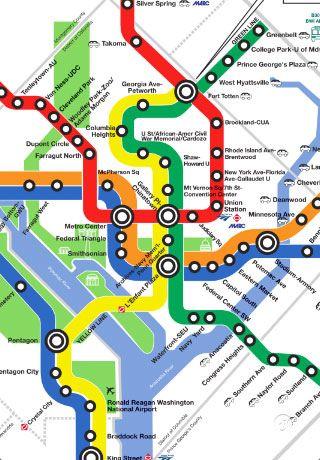 Washington Dcdc Subway Map.Dc Metro Map Free Vacation Tips Washington Dc Travel