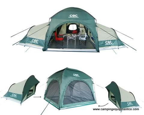 Camping Modular Tents Standalone Sleeping Pods And Multi Room