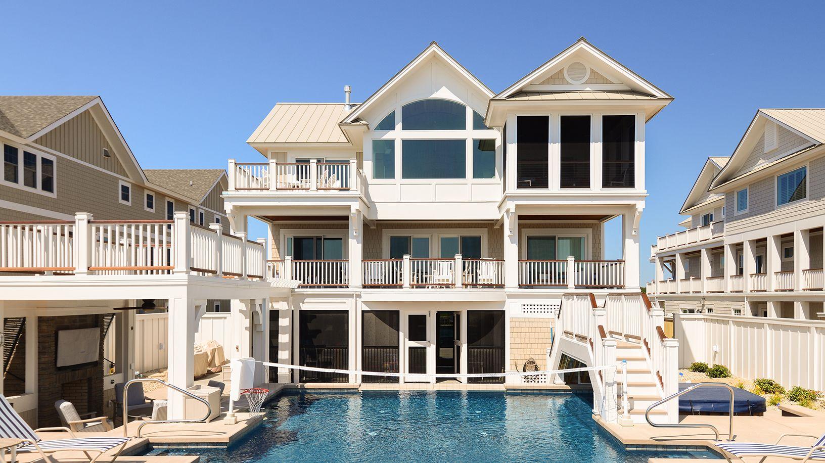 Oceanfront Oasis  Vacation home rentals Oceanfront