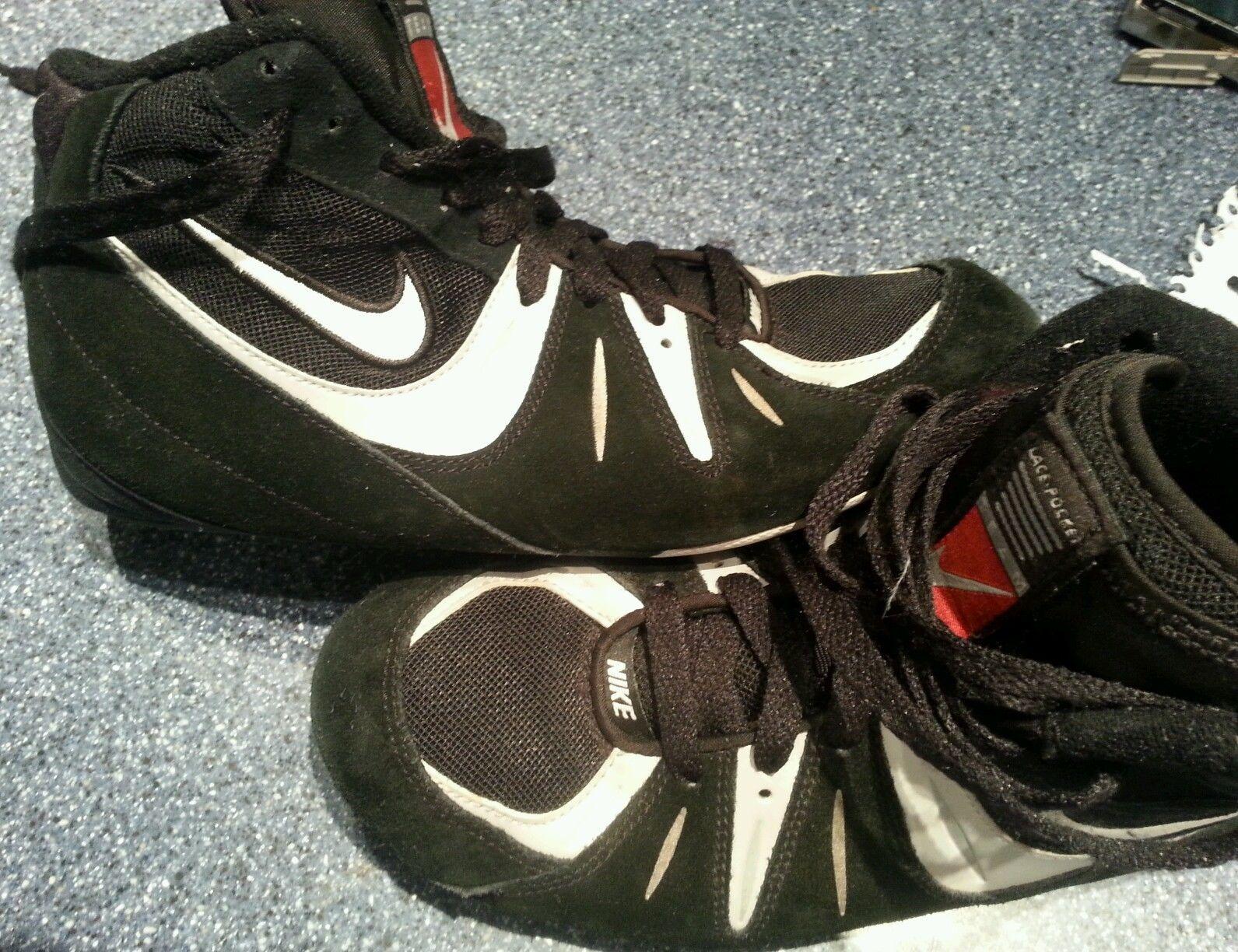 Nike Speedsweep VI Lace Pocket Team Wrestling Shoes Men's Size 7 5 Black |  eBay