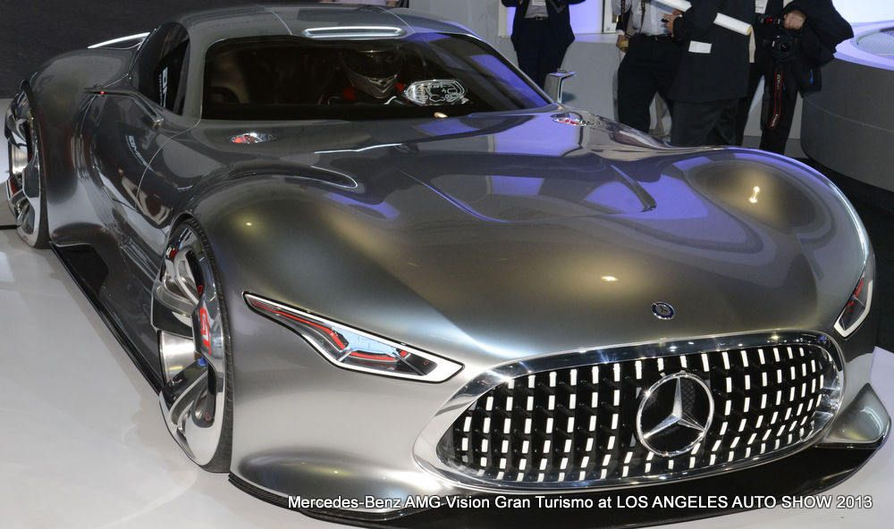 Perfect I See Their Vision, Mercedes Benz AMG Gran Turismo At Los Angeles Auto Show  And A Class Diamond Grille Inspiration Read More At ...