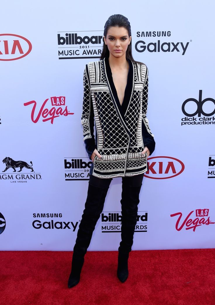 Lucky Magazine - Kendall Jenner debuting Balmain x H&M