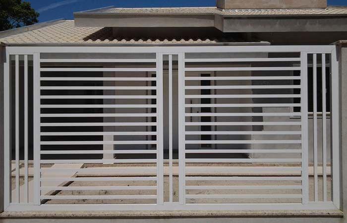 Vertical E Horizontal Front Gate Design Gate Wall Design Fence