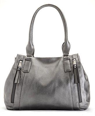 Tignanello Handbag, Fab Function Organizer Leather Shopper - Handbags & Accessories - Macy's