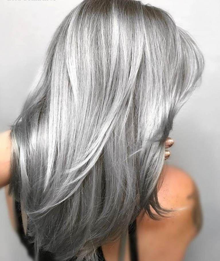 Haare silber färben - 70+ Inspirationen und die besten
