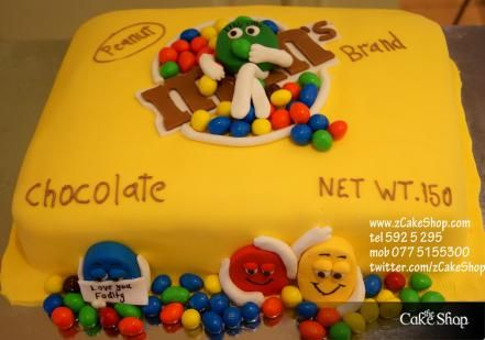 Peanut M M S Cake With Images Cake Shop Cake Cake