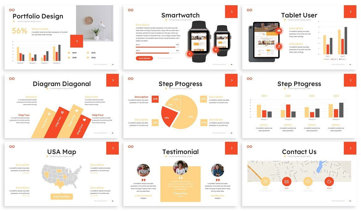 Wooda Powerpoint Template by SlideFactory on