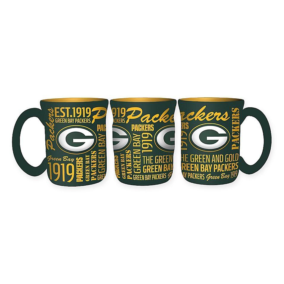 Nfl Green Bay Packers 17 Oz Sculpted Spirit Mug Multi Green Bay Packers Green Bay Nfl Green Bay