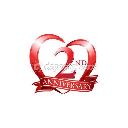 ダウンロード 2 周年記念のロゴのテンプレートです 創造的なデザイン ビジネスの成功 ストックイラストレーション 86351106 記念ロゴ 2周年 ロゴデザイン