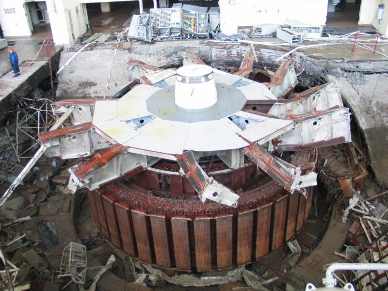 2009 Sayano–Shushenskaya power station accident