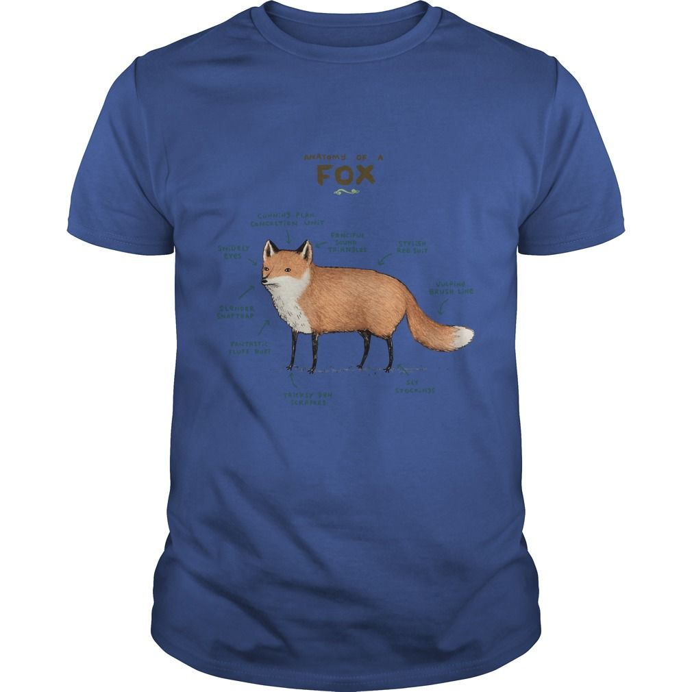 Best t shirt names] Anatomy of a Fox Lifestyle Tshirts and Hoodie ...