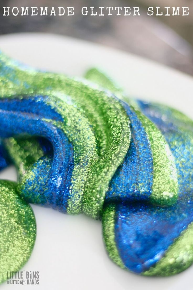 How To Make Earth Day Slime for Kids Science Experiments and ...