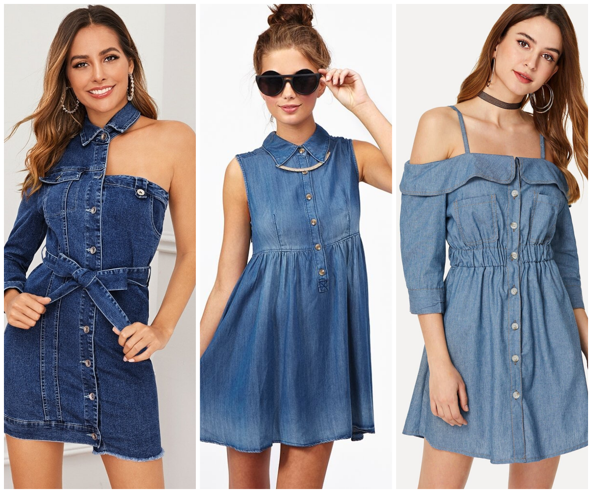 15 Beautiful Design For Casual Denim Dress That You Must Try In This Summer Fashions Nowadays Dresses Casual Denim Dress Denim Outfit For Women [ 1000 x 1200 Pixel ]