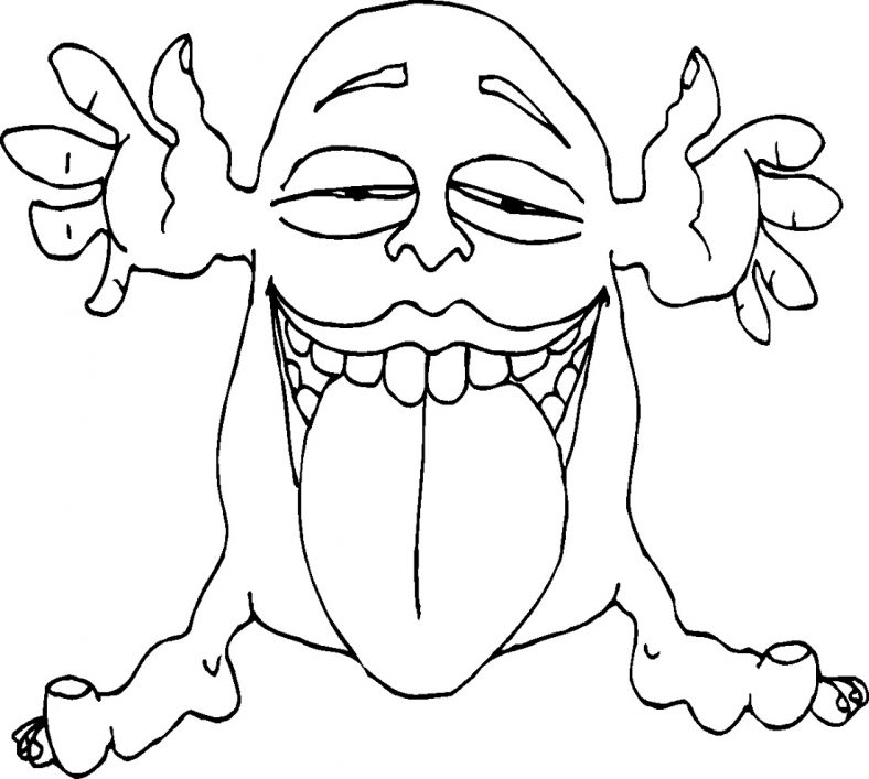 Cute And Scary Monster Coloring Pages 101 Coloring Monster Coloring Pages Monster Truck Coloring Pages Farm Animal Coloring Pages