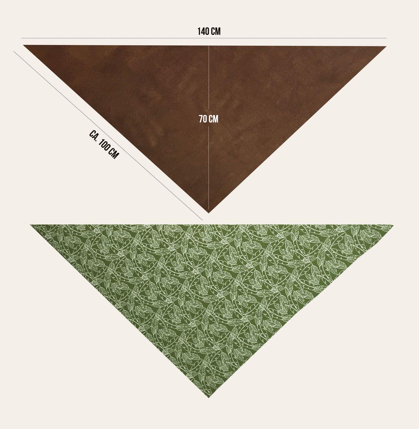 Freebook Dreieckstuch: Wickelschal für die Lybsten nähen #scarves