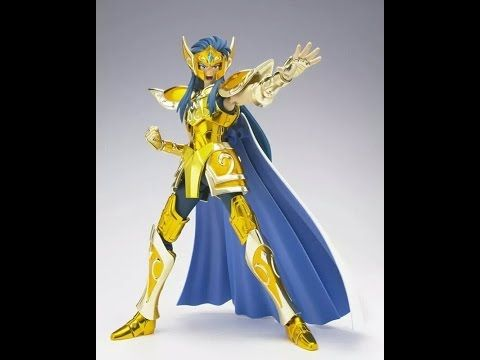Camus de Acuario - Saint Seiya Myth Cloth EX | Out of da Box - YouTube