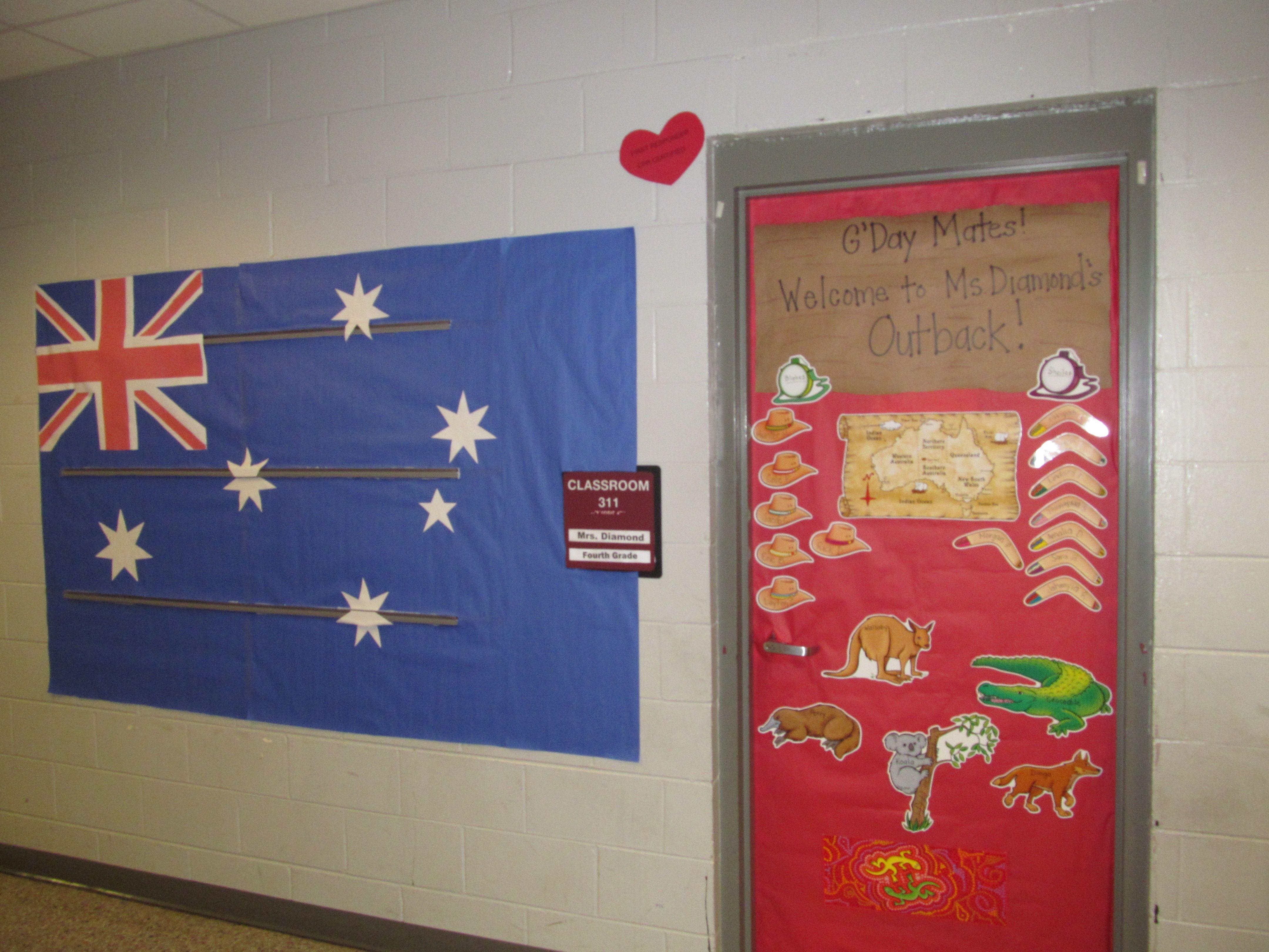 Classroom Decorations Australia ~ Ms diamond s classroom outback australia lpe school