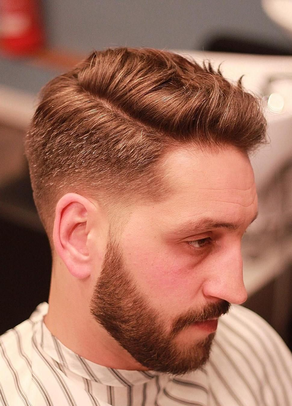 Taper Side Part Hairstyle Side Part Haircut Mens Hairstyles Side Part Mens Hairstyles