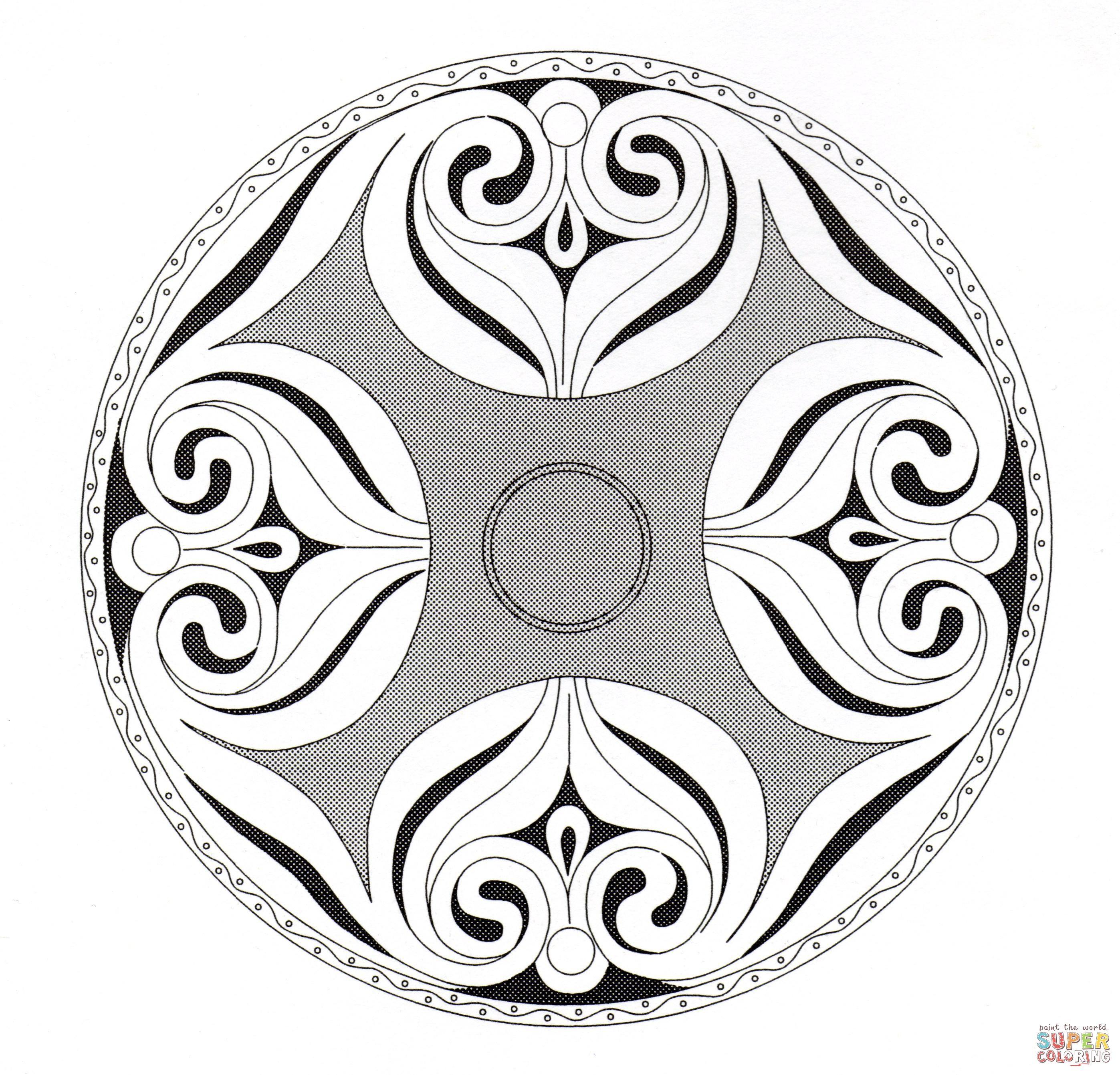 Celtic Mandala 7 | Super Coloring | mandalas | Pinterest | Mandalas