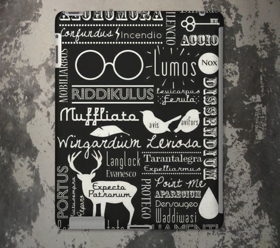 Expecto Patronum Harry Potter Spells Case For by SamoaPhoneCases, $24.00