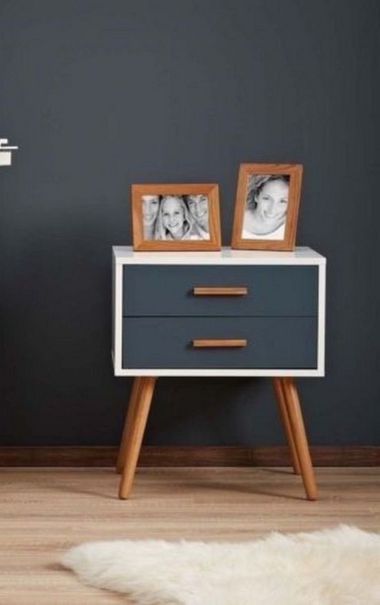 20 Top Retro Bedside Table Design Ideas For Your Classic Bedroom