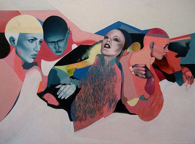 Beata Chrzanowska's Sensual Paintings Combine Figuration and Abstraction | Hi-Fructose Magazine