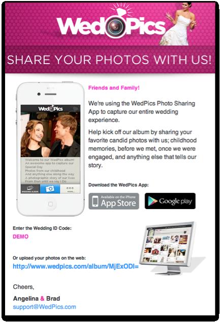 WedPics Wedding App