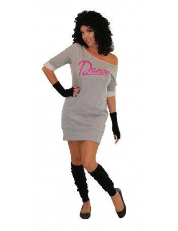 80u0027s Flashdance Sweatshirt Dress  sc 1 st  Pinterest & 80u0027s Flashdance Sweatshirt Dress | 80s | Pinterest | Unique ...