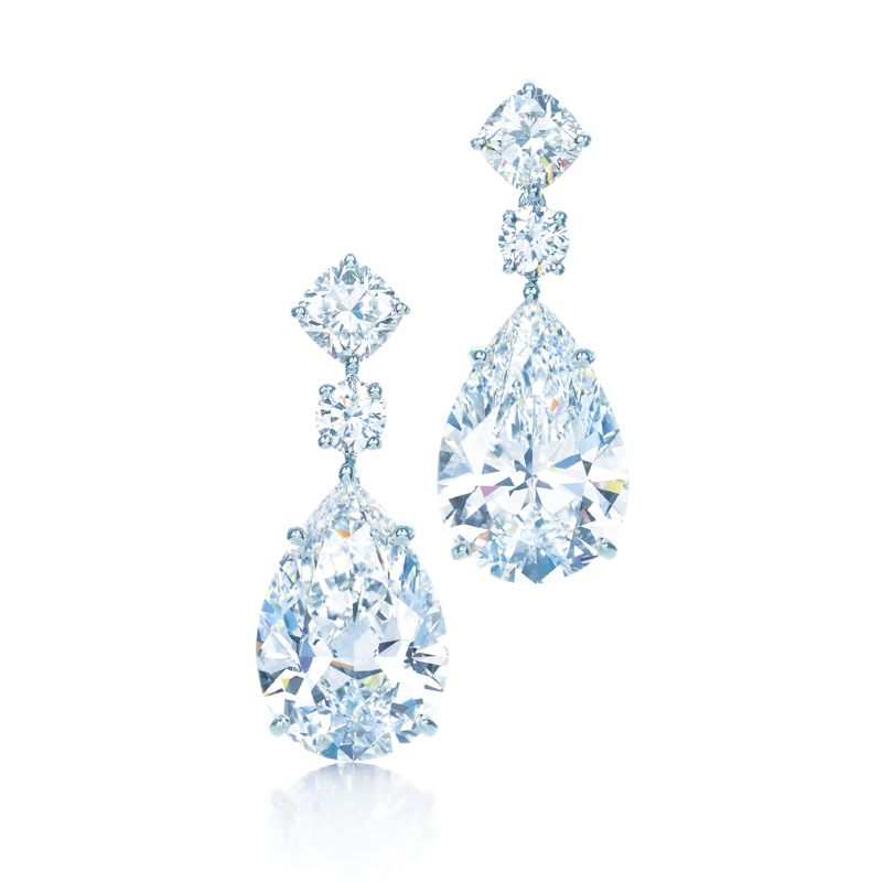 Diamond Drop Earrings Are A Dazzling Way For Bride To Light Up Room