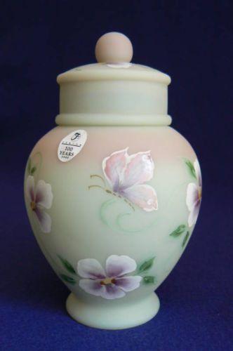 Fenton-6-5-Lotus-Mist-Burmese-Temple-Jar-Ltd-Ed-Signed