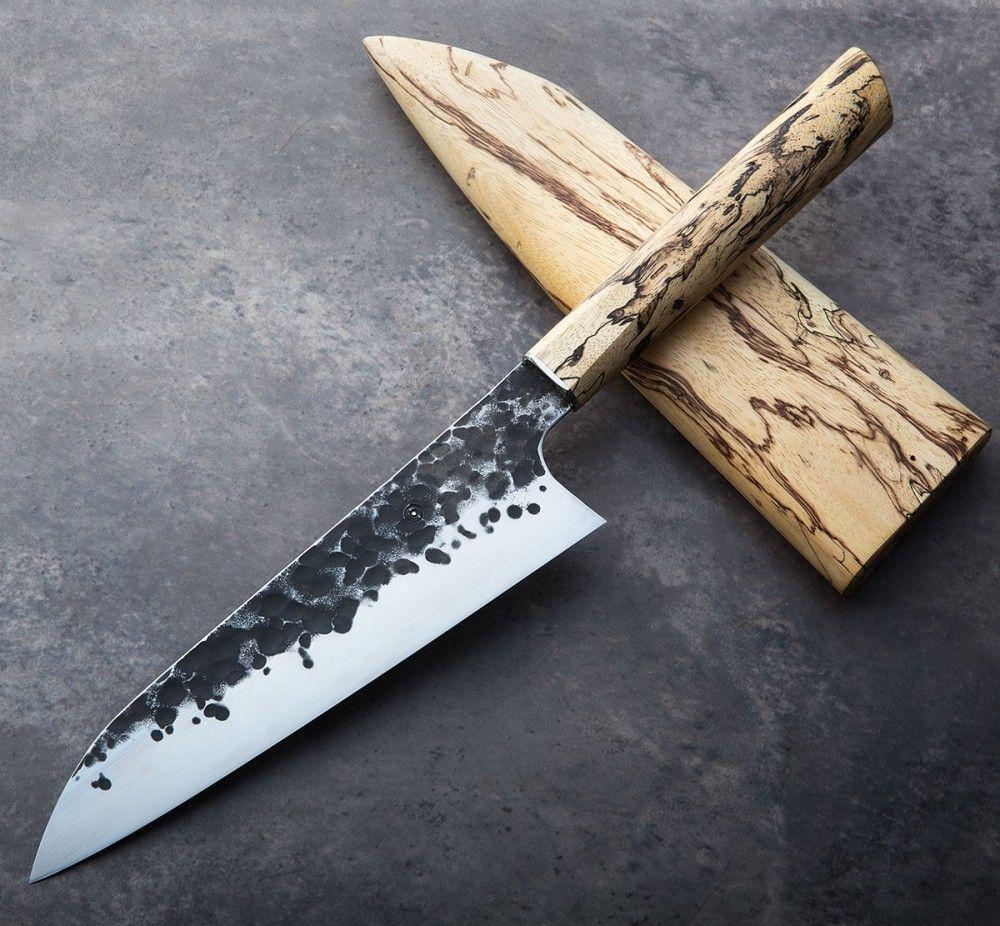 Tamarind Forged Chef 200mm | Kitchen knives, Knife making ...