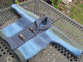 d97b427cbb84 Ribbed Baby Jacket pattern by Debbie Bliss
