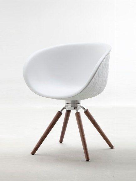 Polyurethane Chair With Armrests Structure Wood By Tonon Mit Bildern Coole Mobel Stuhl Design Design