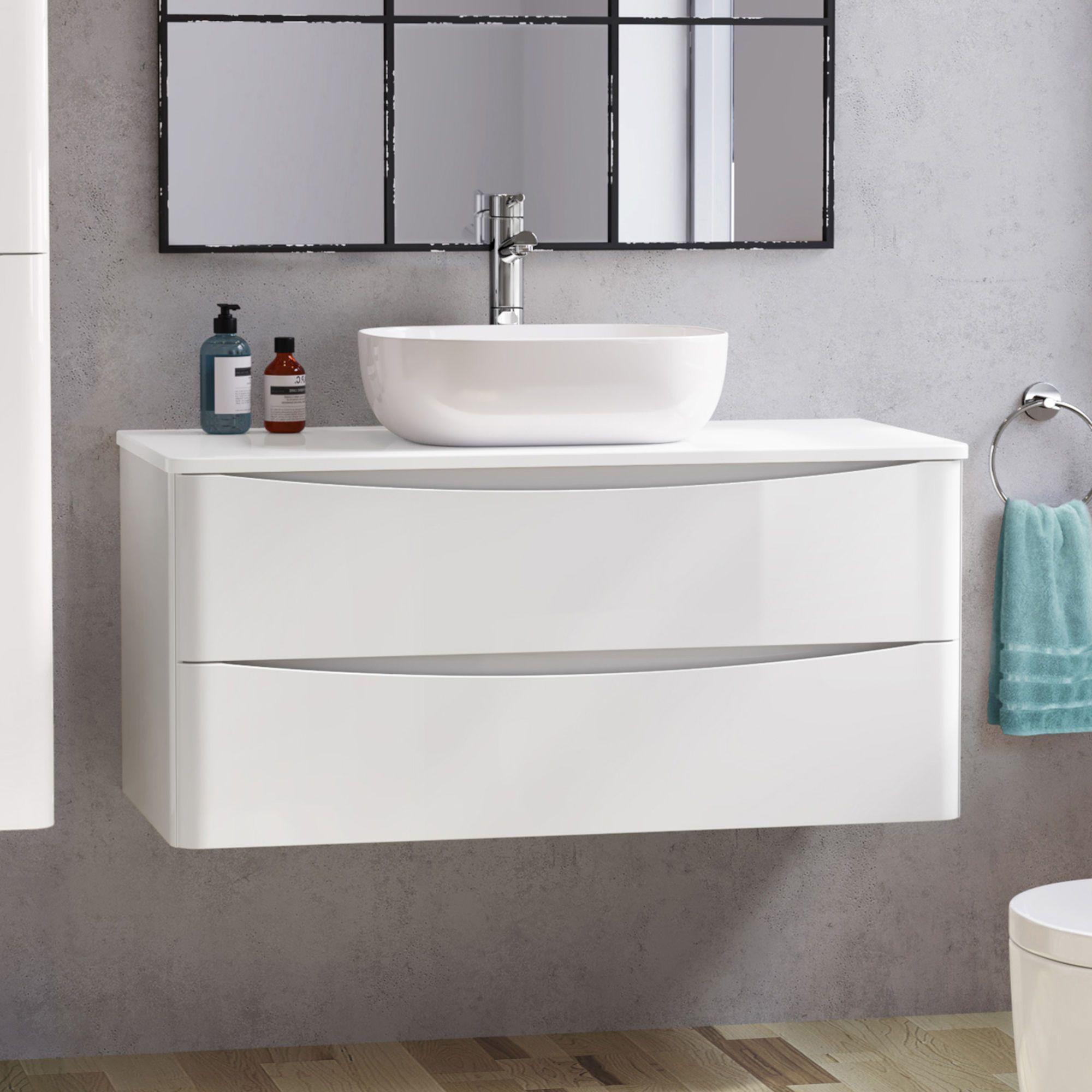 Austin Vanity Unit Colette Basin 1000mm Bathroomvanitybasins