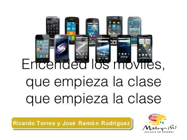 Encended los móviles #8ENPE by José Ramón Rodríguez via slideshare