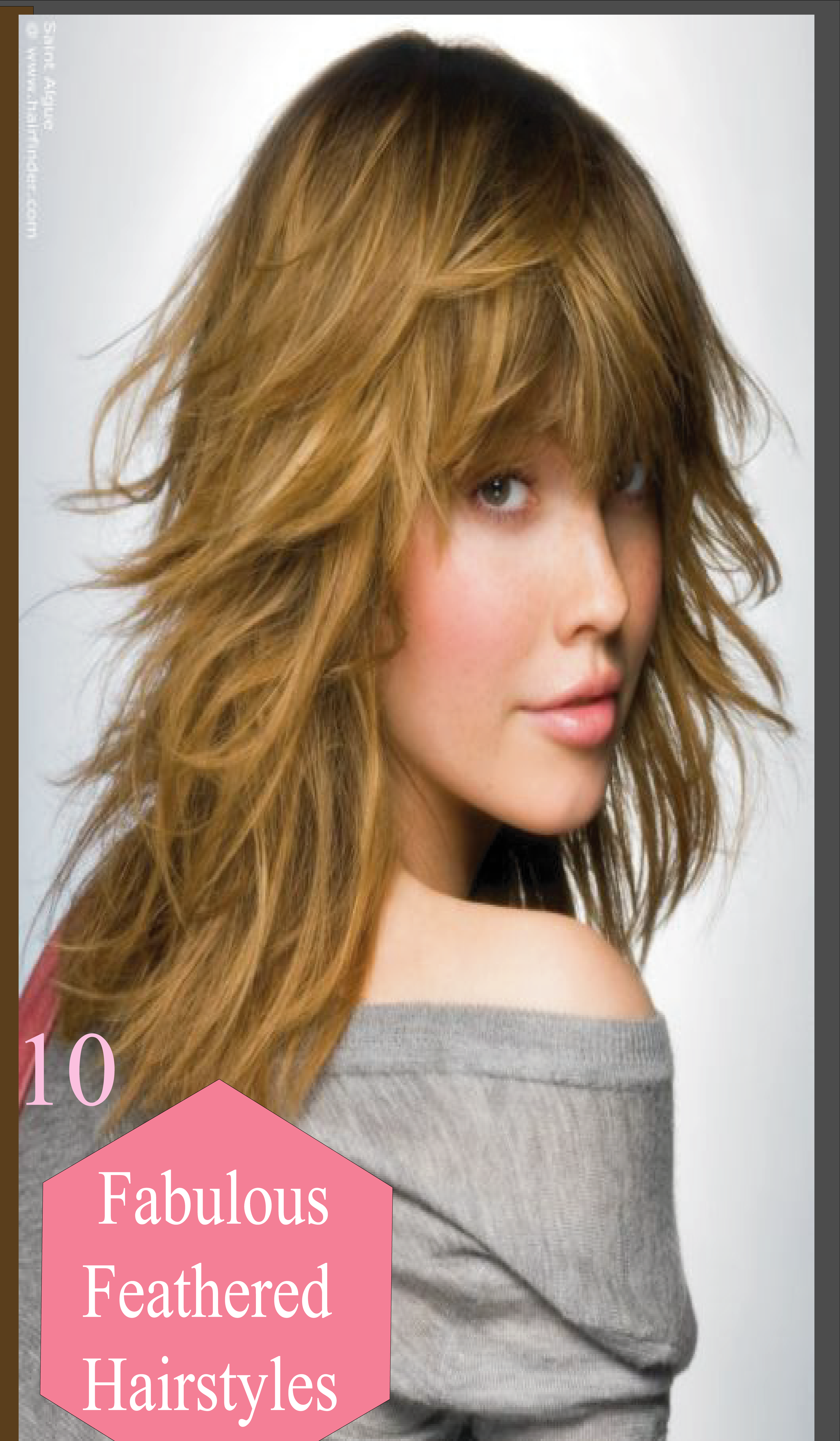 10 fabulous feathered hairstyles for long straight hair