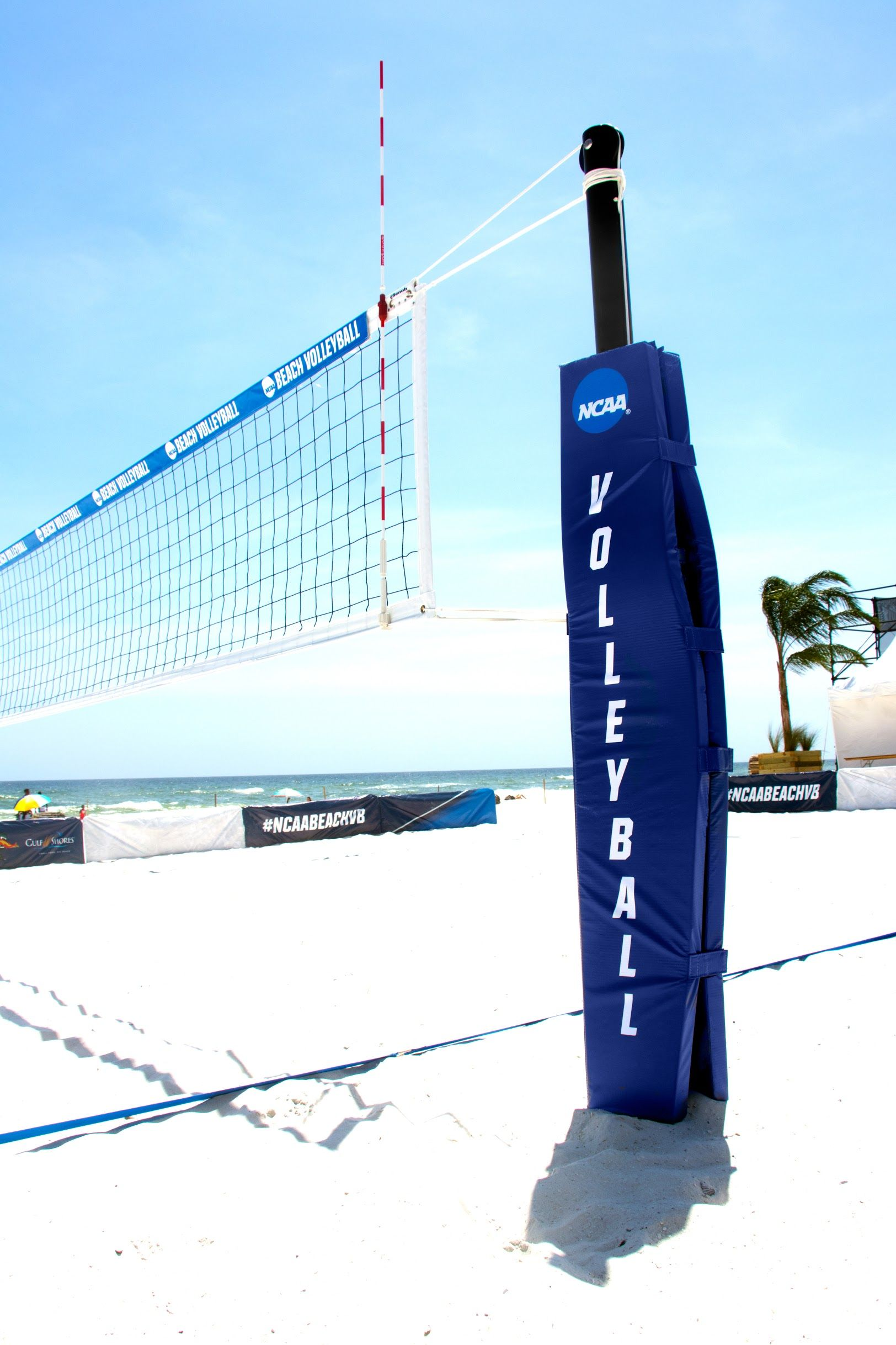 Proud To Be At The Center Of The Ncaa Beach Volleyball Championship Beach Volleyball Volleyball Volleyball Net