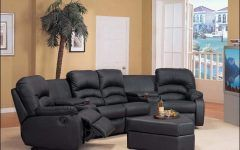 Small Sectional Couches With Recliners Sectional Sofa With
