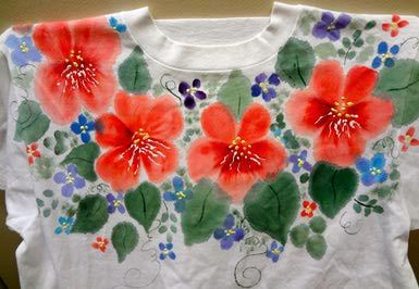 painted tshirt - Janice Waltzer/Flickr