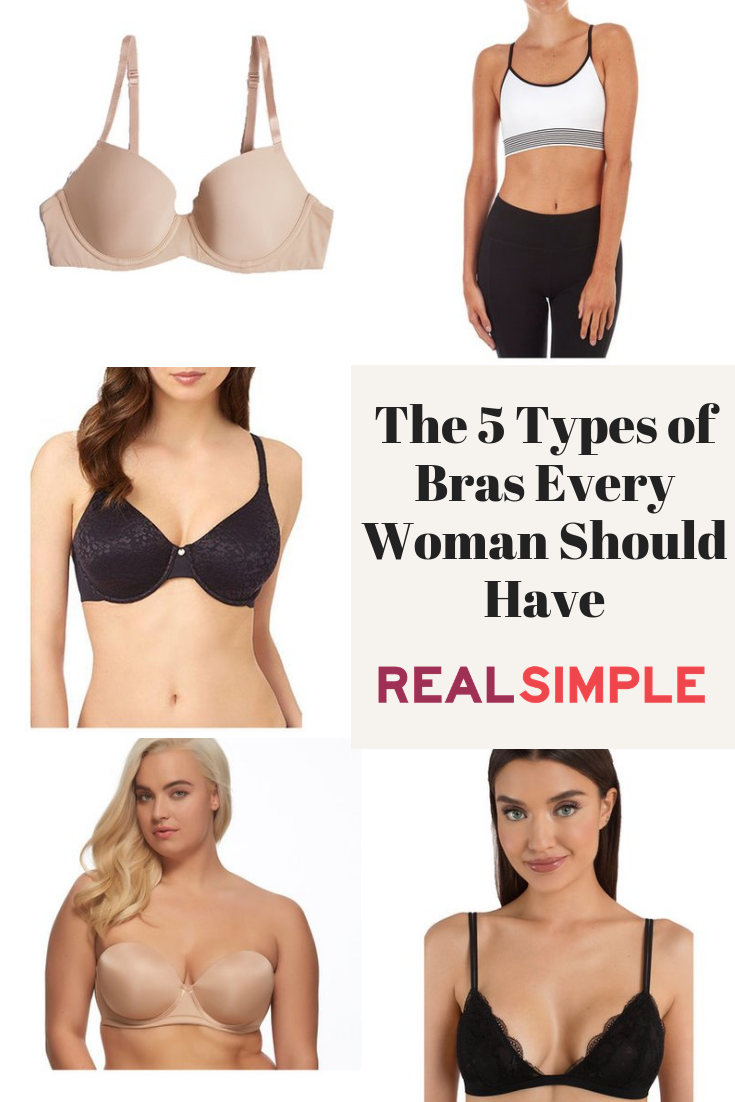 e6060fdfdb2 5 Types of Bras Every Woman Should Have