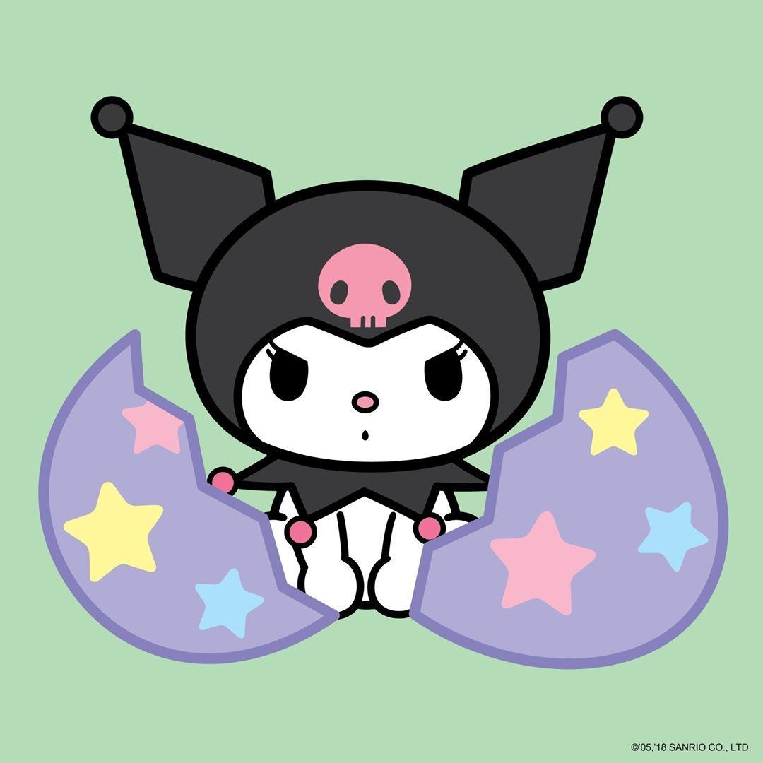 Happy easter kuromi hello kitty wallpaper kitty
