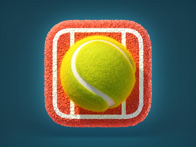 Tennis Ball Icon App Icon Ios App Icon App Icon Design