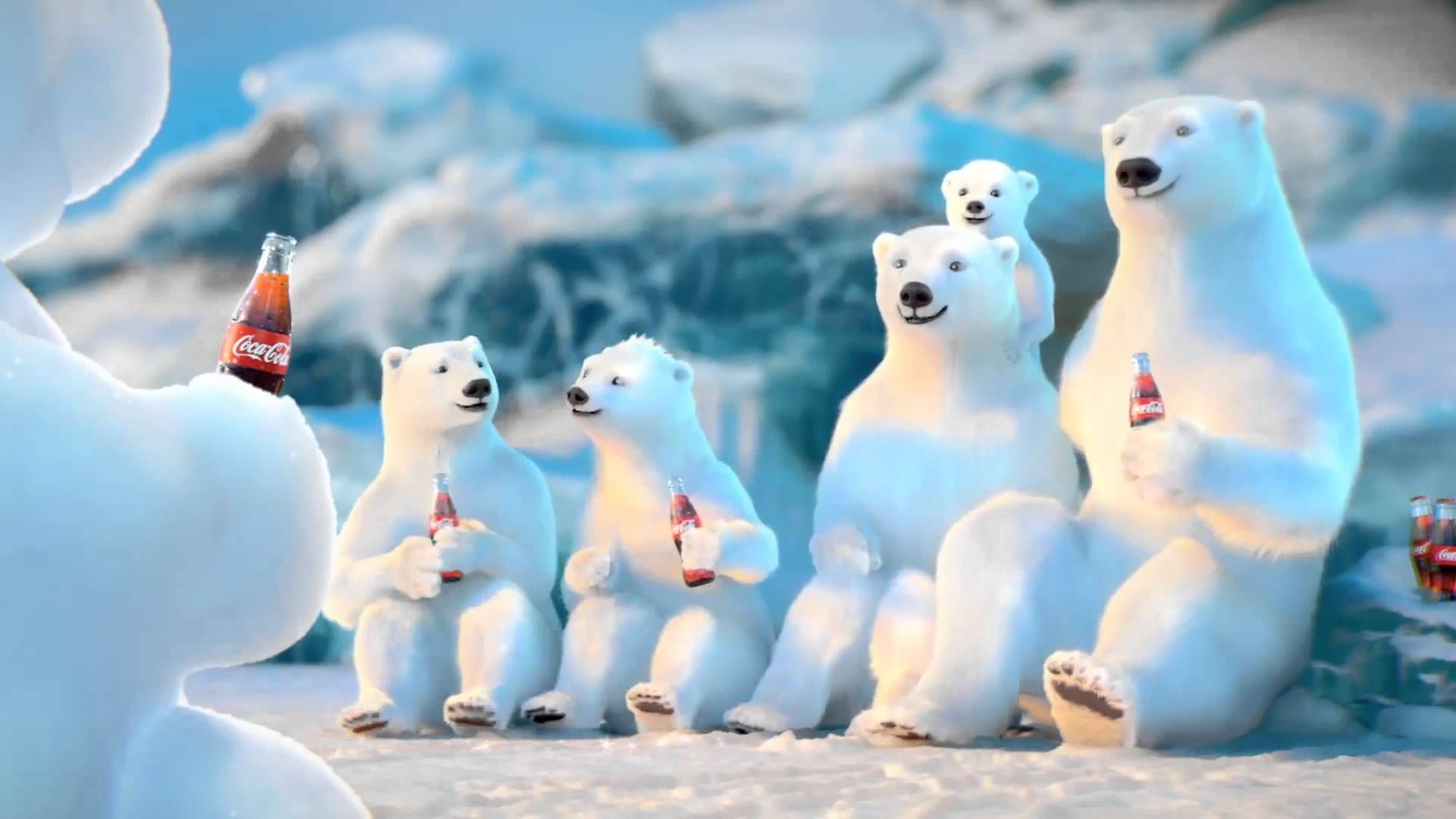 christmas cocacola polar bear viewing gallery for
