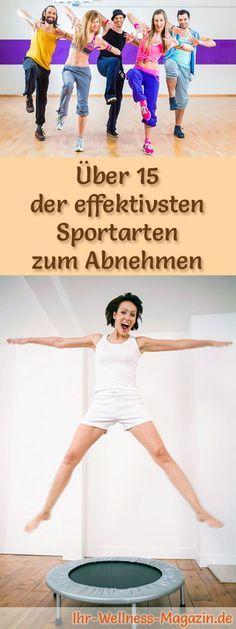 effektive sportarten zur fettverbrennung