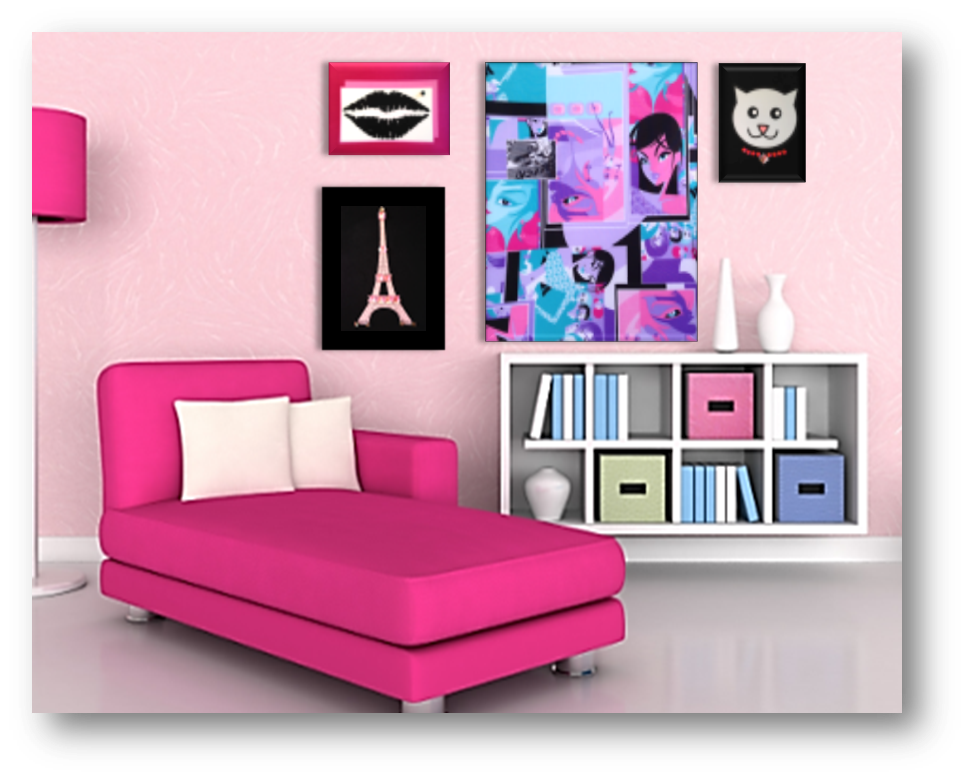 Stretchable Wall Art - under $20 is perfect for a dorm ...