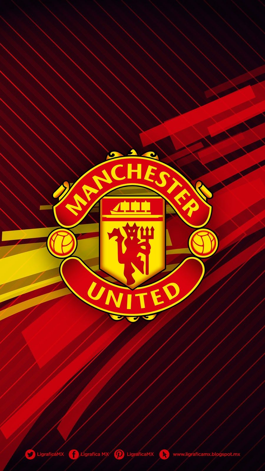 Manchester United Iphone Wallpaper Hd In 2020 Manchester United Wallpaper Manchester United Wallpapers Iphone Manchester United Logo