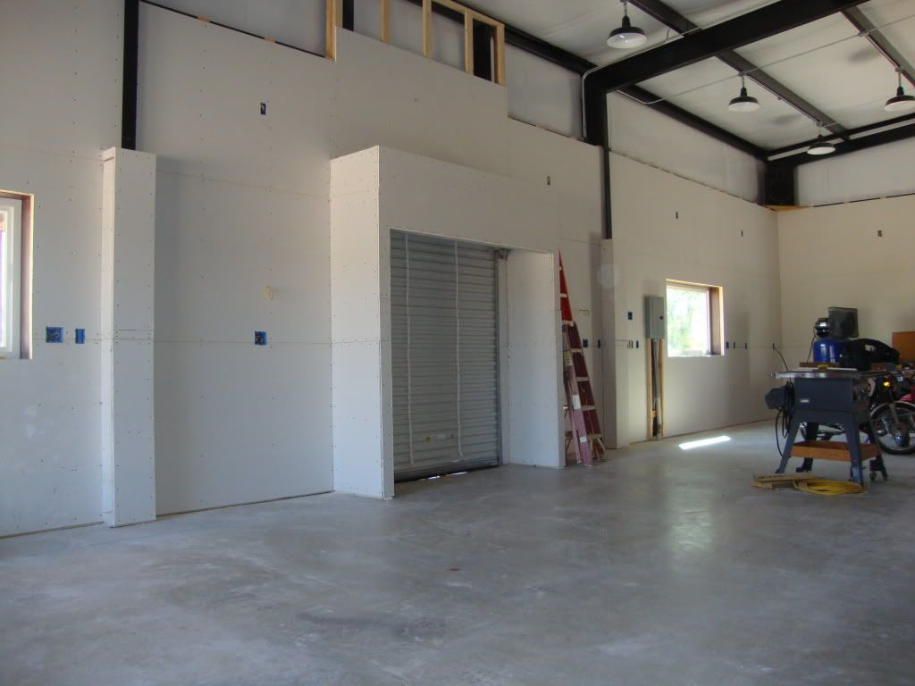 finishing a metal building interior what works and what to stay away from the garage journal