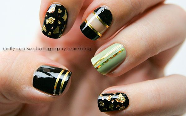 17 Perfect Nail Designs With Striping Tape Re Pin Nail Exchange